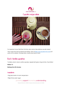 Cupcake recipe ideas
