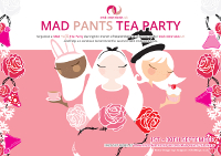 Download a mad pants tea party poster