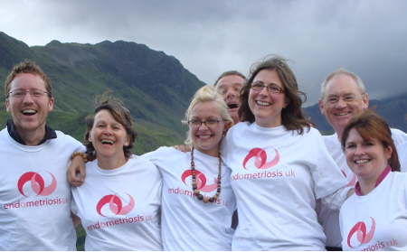 Endometriosis UK fundraisers