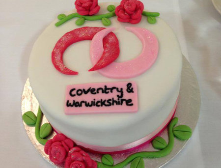 Endometriosis UK cake