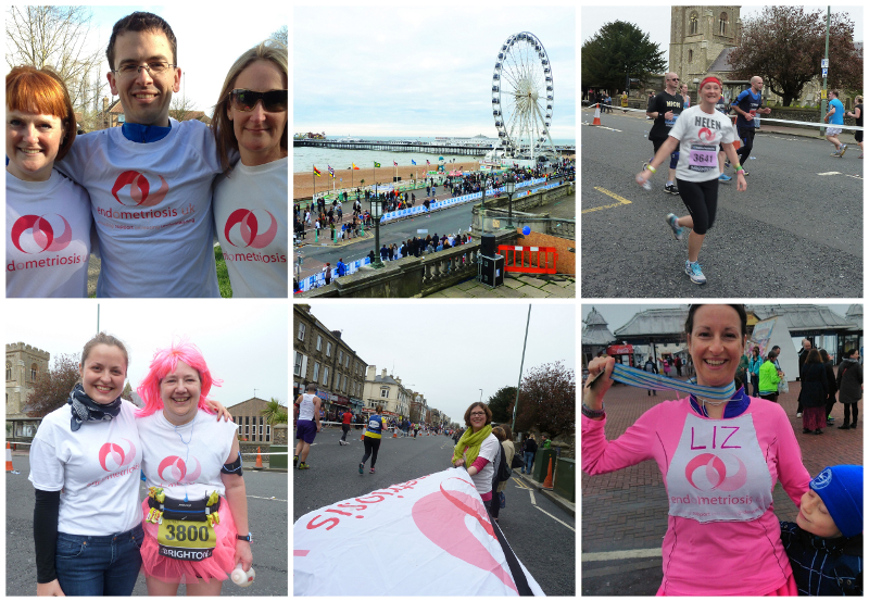Endometriosis UK Brighton Marathon runners have raised an amazing amount