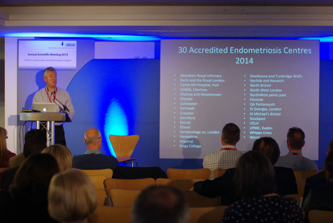 The BSGE presents it's list of accredited Endometriosis treatment centres