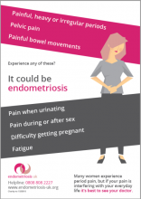 Endometriosis Awareness Week Poster