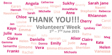 Endometriosis UK Volunteers' Week 2015